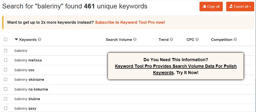 keyword tool prnt