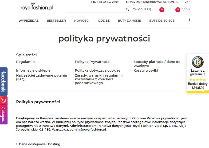 royalfashion-polityka-prywatnosci