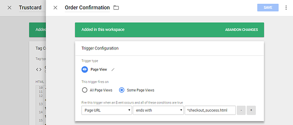 Integracja Trustbadge w Google Tag Manager 8