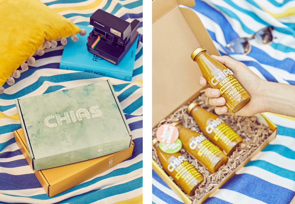 Chias - estetyczne pudełka