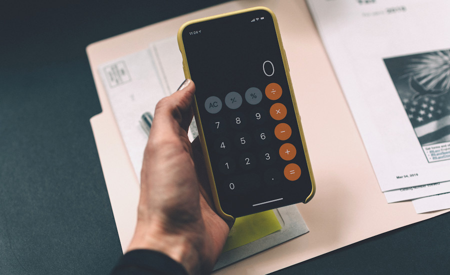 Kalkulator - zmniejszanie wartości