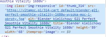 Opis alternatywny obrazka w kodzie HTML