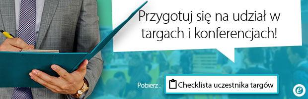Checklista uczestnika targów